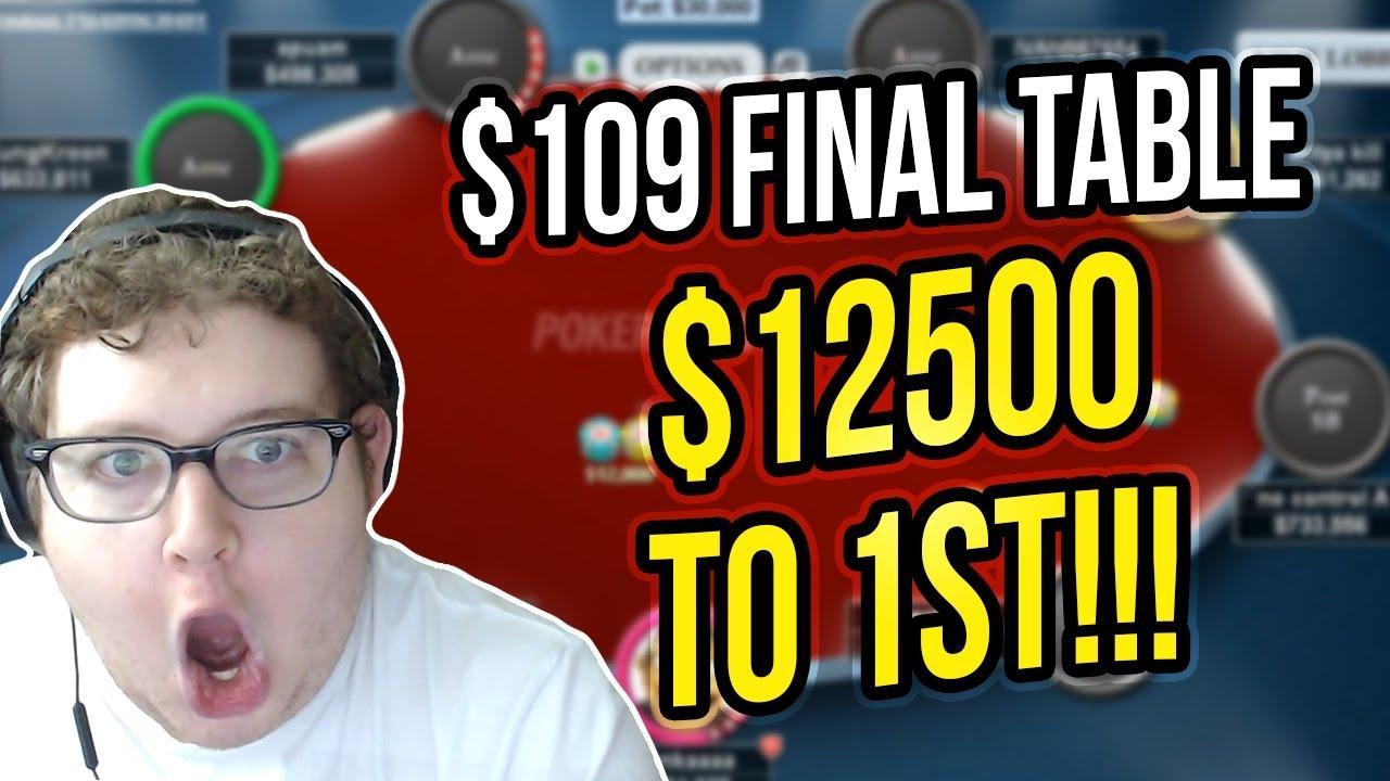 Tonkaaaap - Big $109 Final Table!