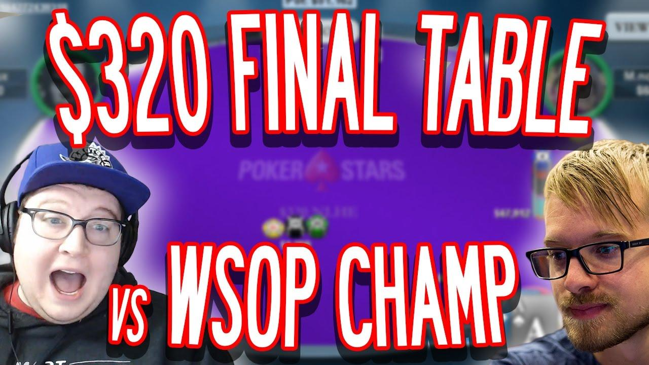 Tonkaaaap - Final Table with a WSOP Champion!