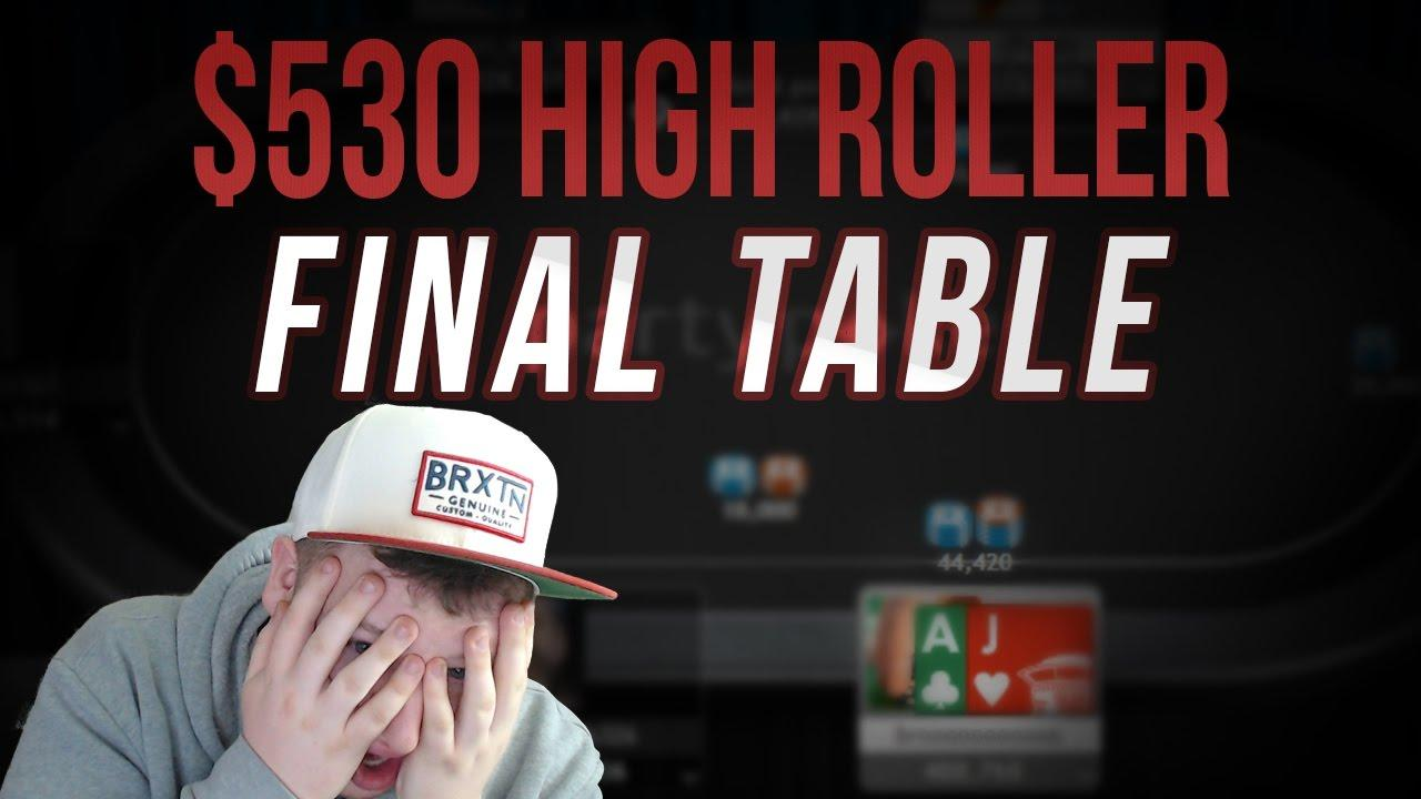 Tonkaaaap - High Roller Final Table