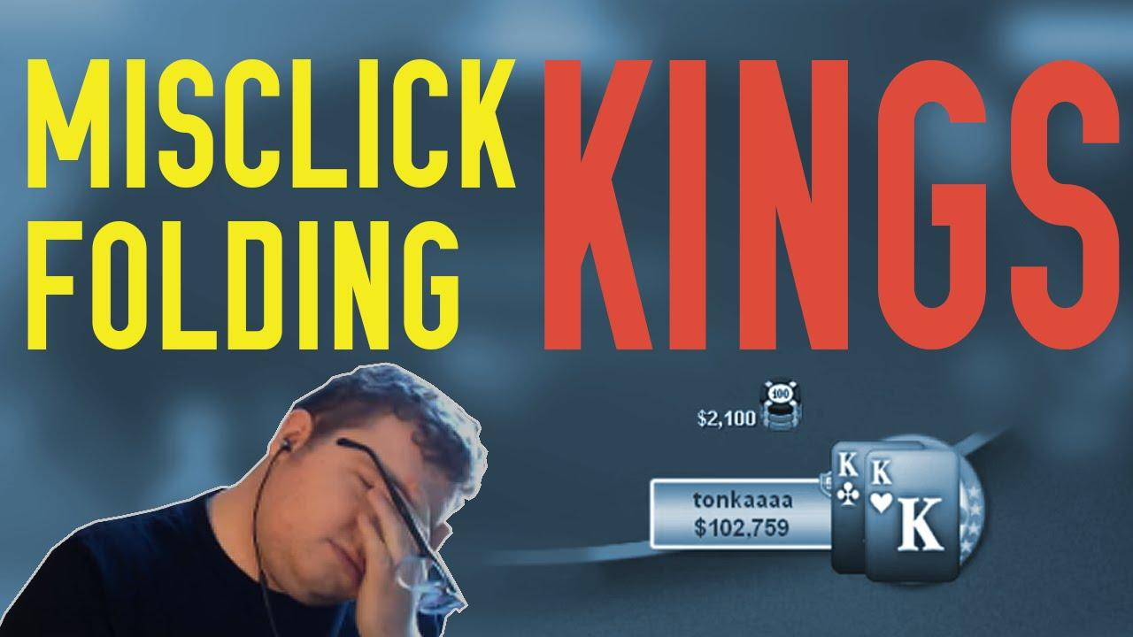 Tonkaaaap - Misclick Folding Pocket Kings in the WCOOP!