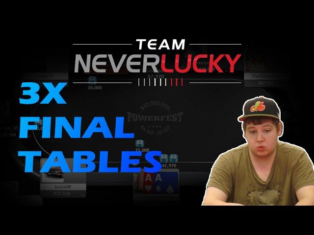 Tonkaaaap - Multiple Final Table Runs!