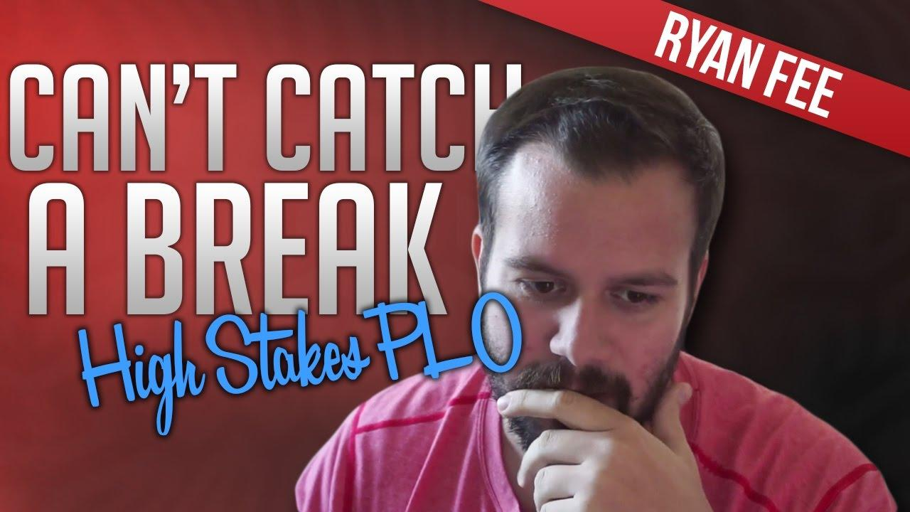 UpSwing Poker - Ryan Fee Can't Catch A Break!