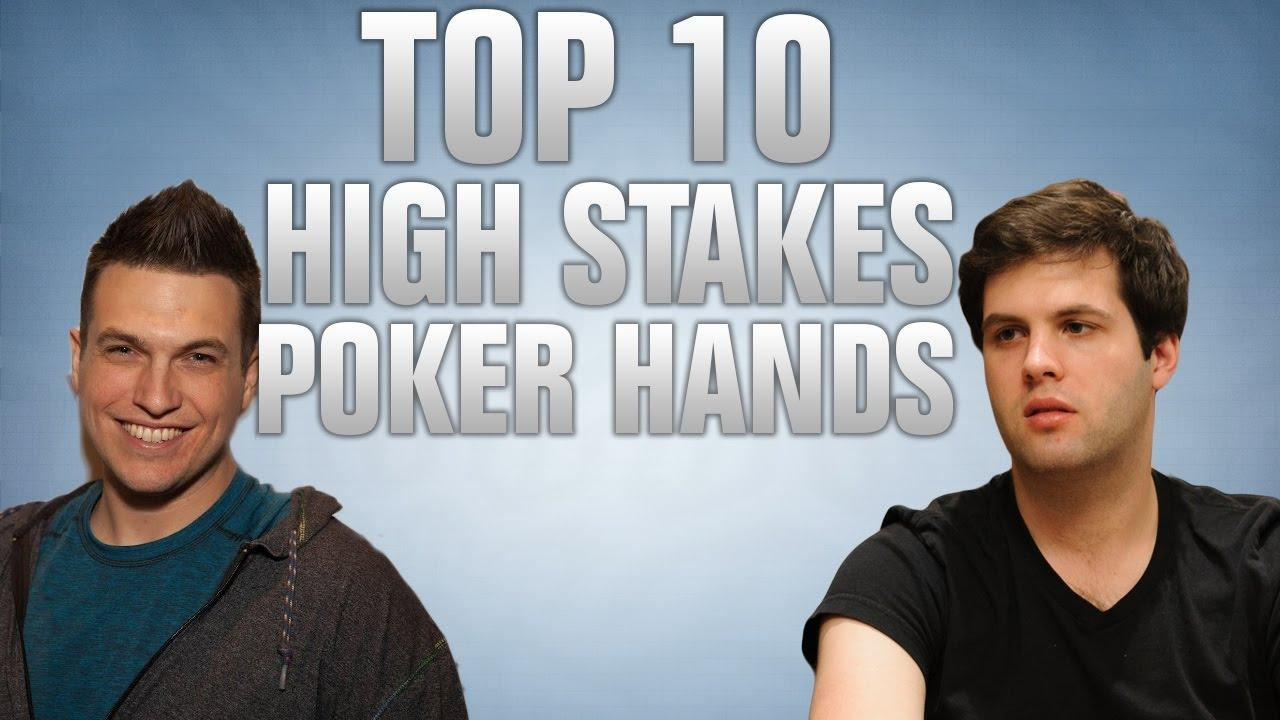UpSwing Poker - Top 10 High Stakes Poker Hands