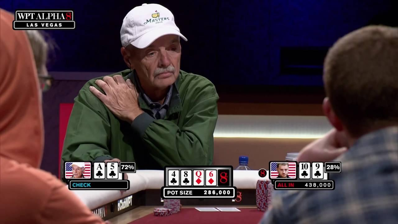 WPT Alpha8 - Peters Puts Klein to the Test