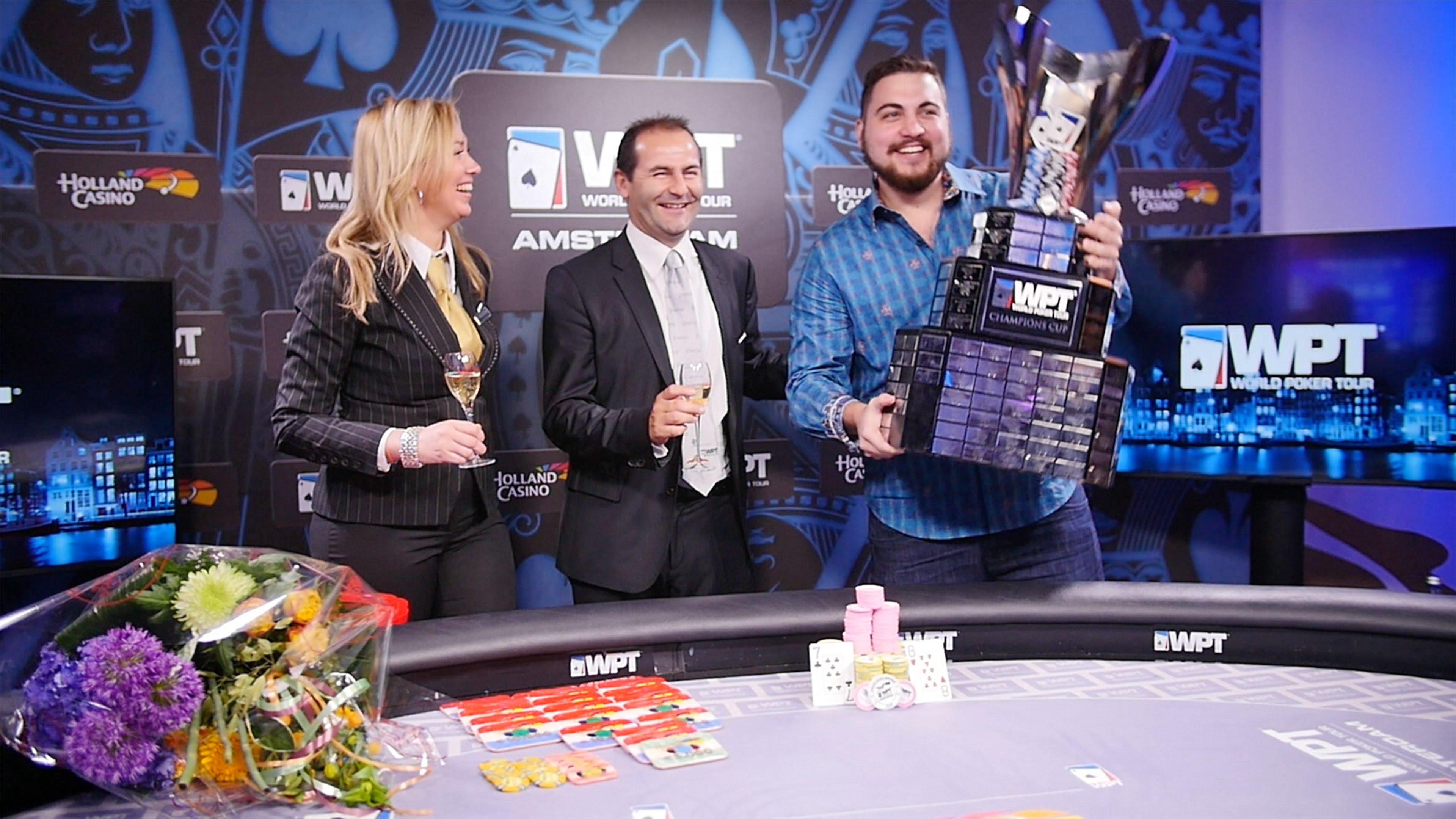 WPT Amsterdam - Andjelko Andrejevic Winner Interview