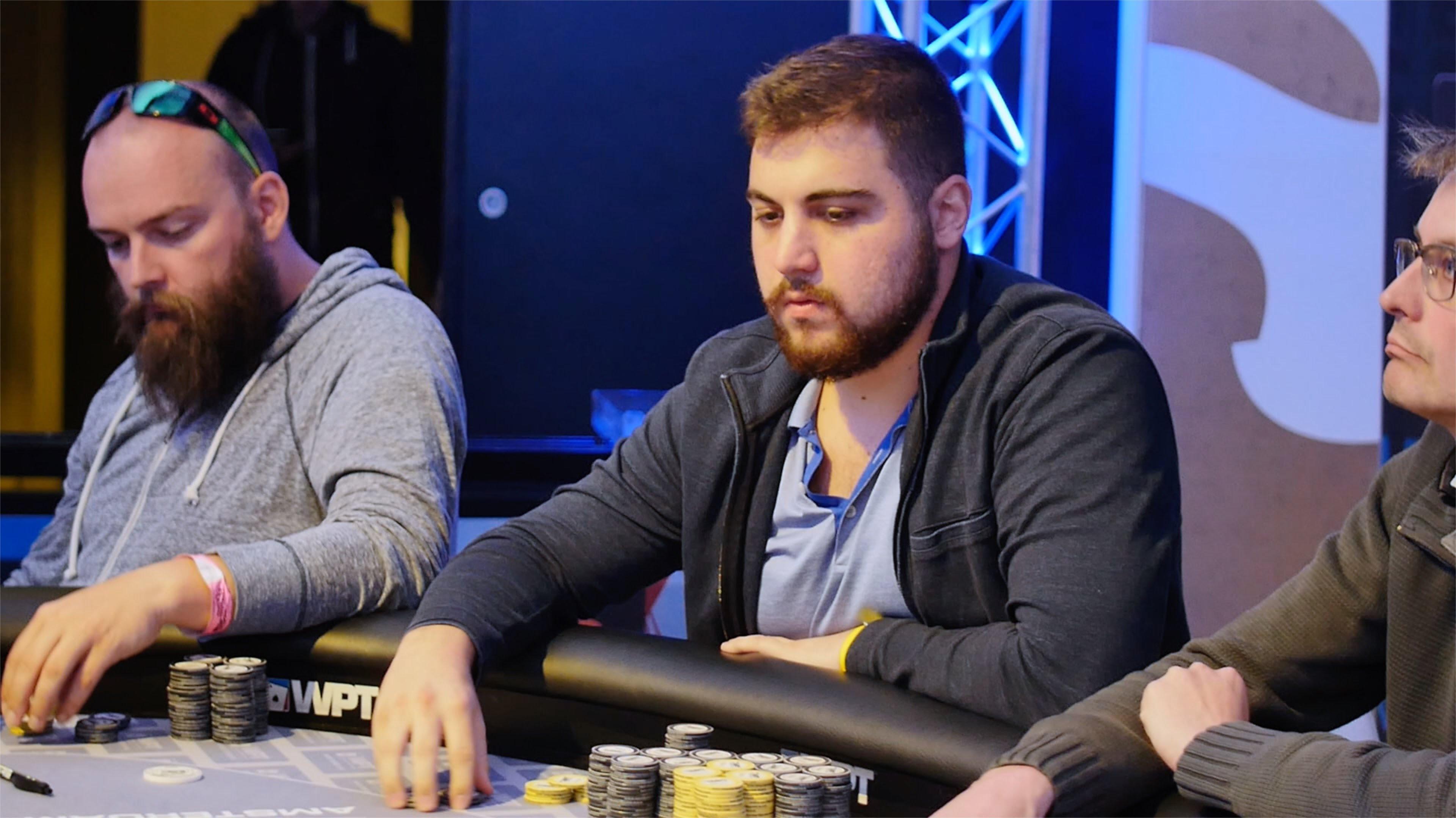WPT Amsterdam - Chip Leader Andjelko Andrejevic