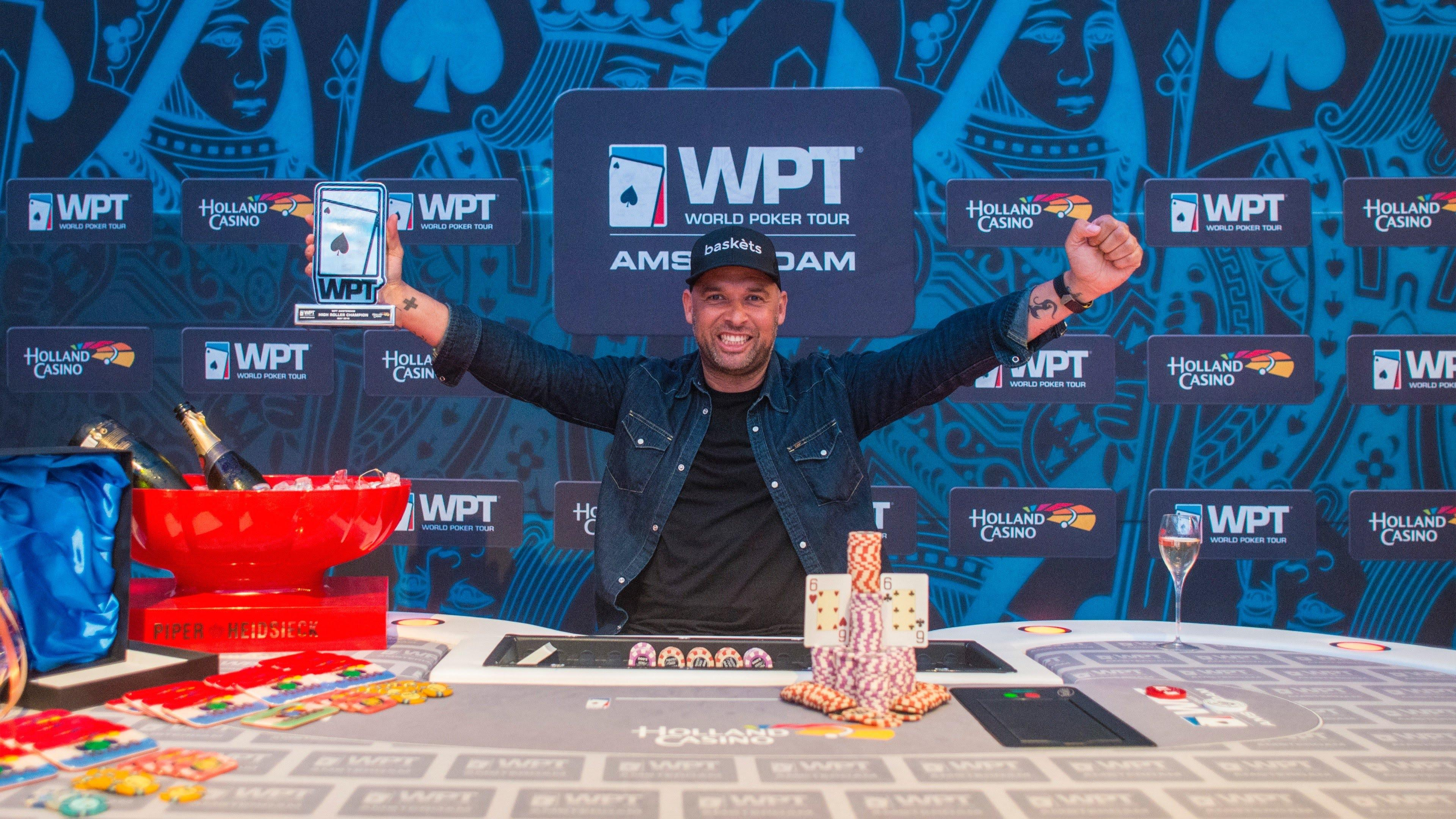 WPT Amsterdam High Roller - Winner Interview