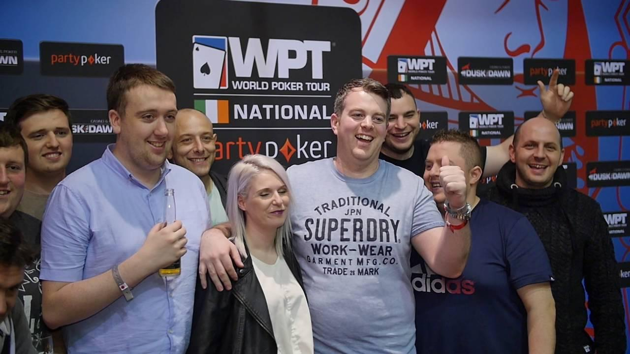 WPT Ireland - Richard Lawlor Winner Interview
