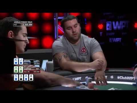 WPT Montreal - Big Flop on the Final Table
