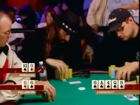 WSOP 2004 - Fergusons Good River Call