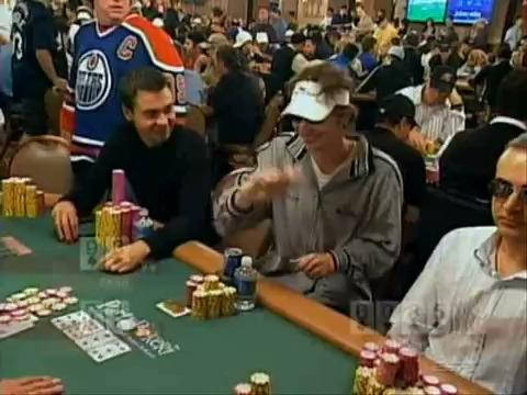 WSOP Main Event - Micon's Thriller Dance