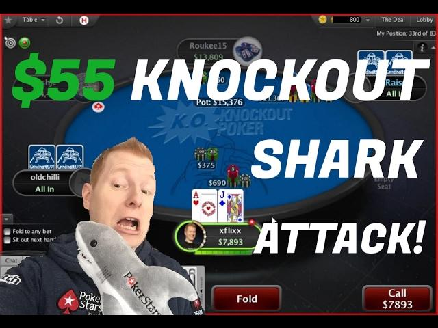 xflixx - Can We Beat $55 KO Poker Sharks?