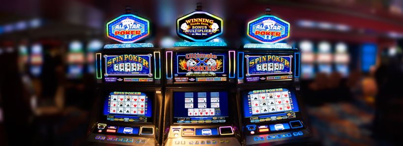 Best video poker slot machines full overlap slotted container