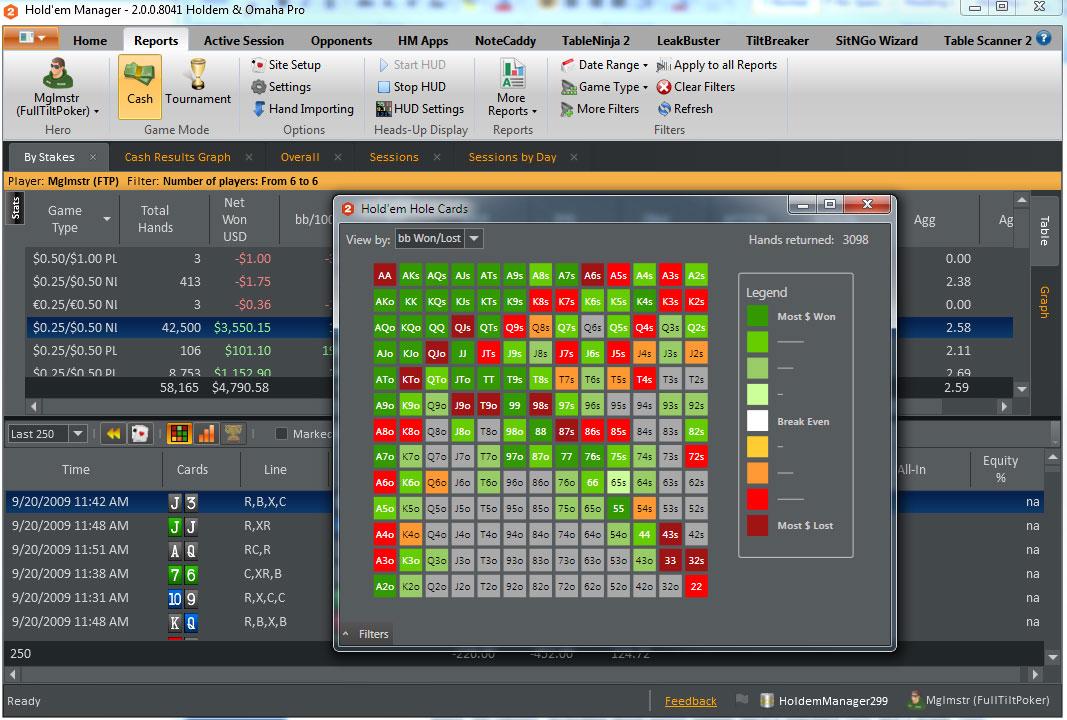 Poker overlay software