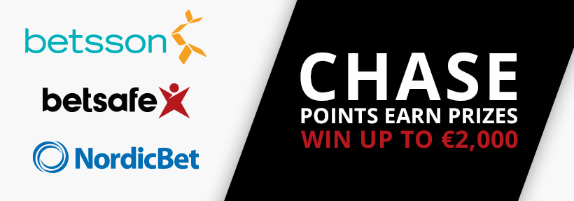 Betsson points chase July 2017
