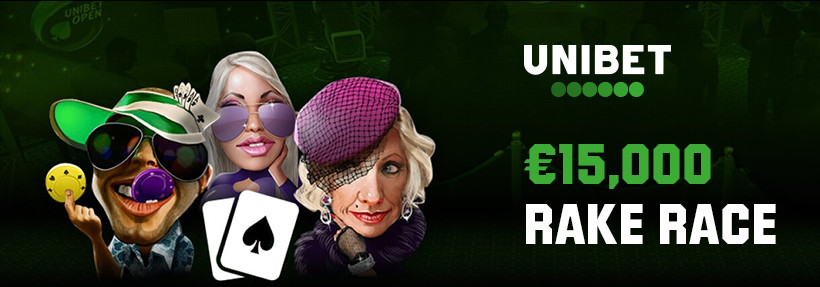 Unibet October $ 15,000 Rake Race