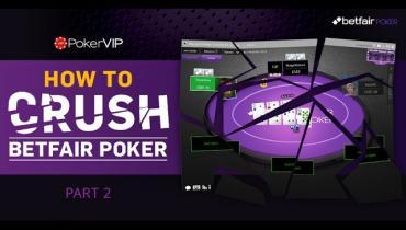 Crush Betfair Speed Poker 20nl: Part 2