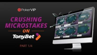 Crushing TonyBet Microstakes - Part 1