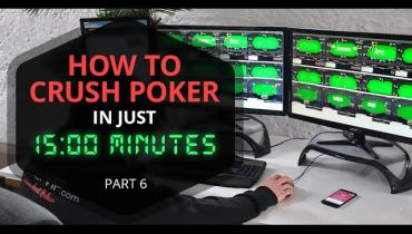 How To Study Poker In 15 minutes: Board Texture Part 3