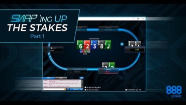 SNAP'ing Up The Stakes On 888Poker Part 1/4