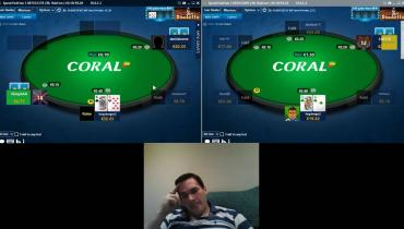 Coral Speed Poker: Part 3 - 20nl