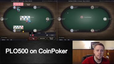 CoinPoker PLO Strategy 1/2