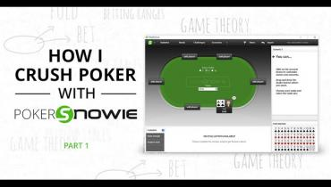 How I Crush With PokerSnowie Part 1