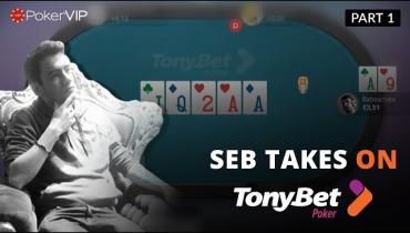 Micro Stakes Masterclass On TonyBet 1/4