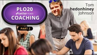 Betfair PLO20 Cash Game Coaching 2/4