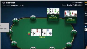 The Biggest PLO Pots Played Online: Full Break Down