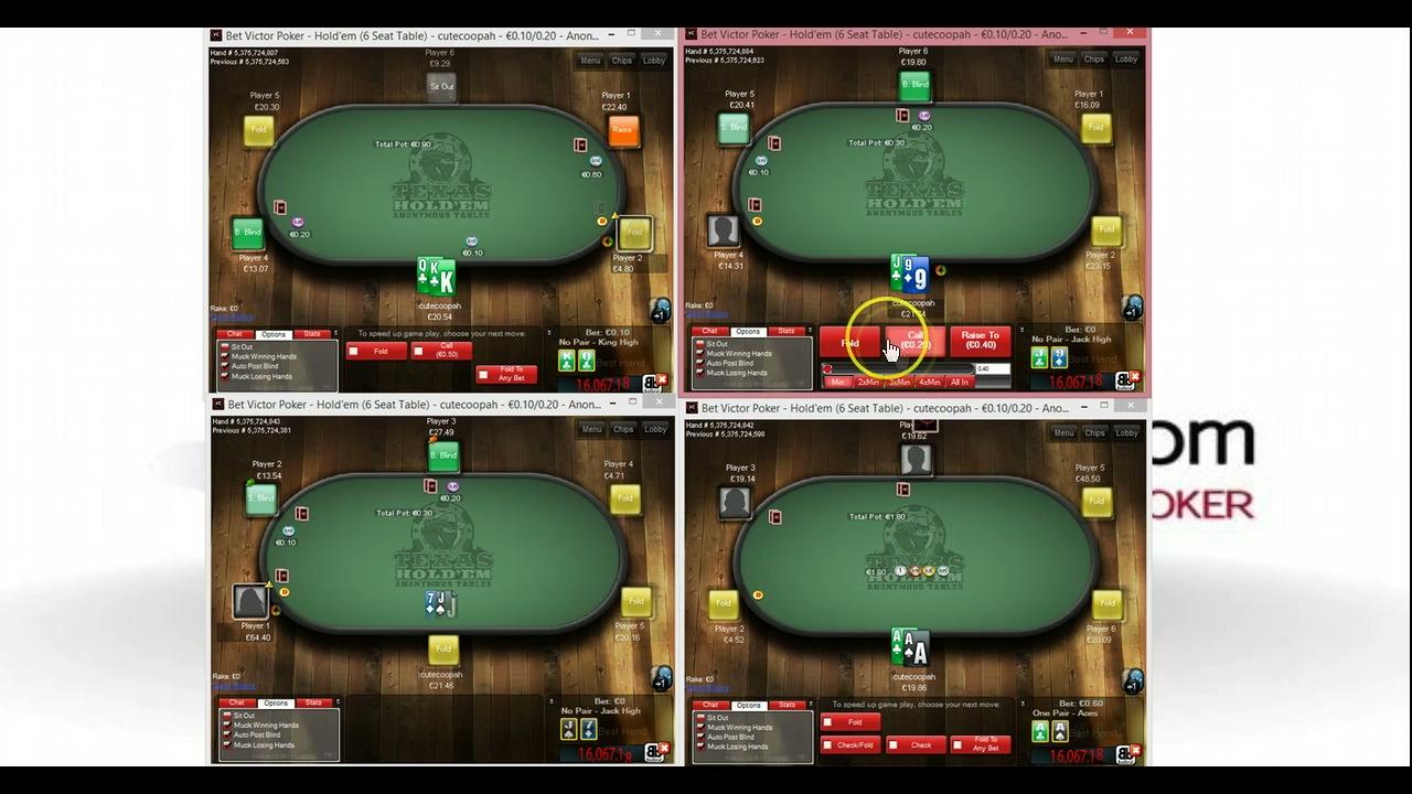 Betvictor Poker