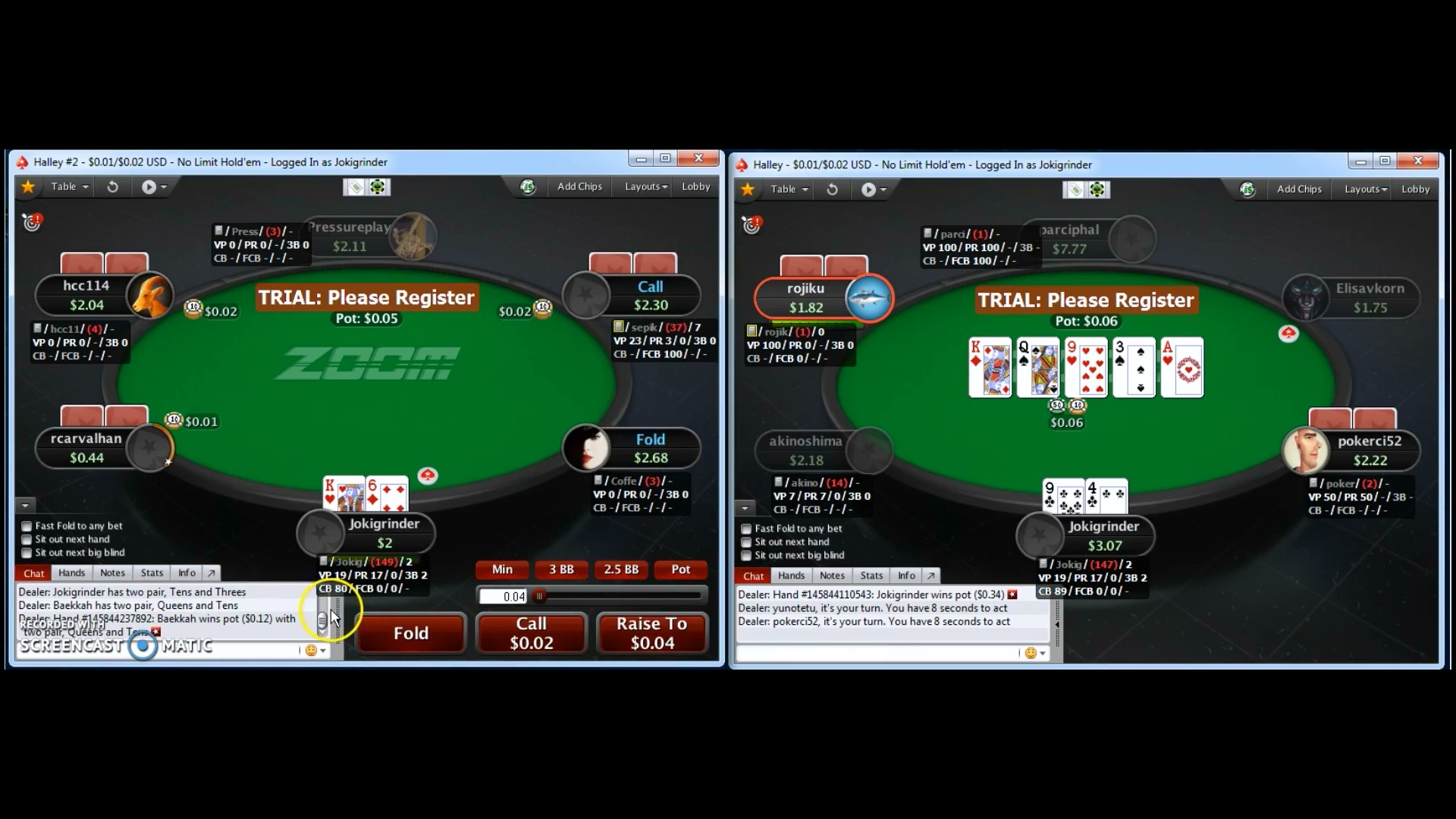Player Review: JokiGrinder PokerStars 2nl Zoom - Coaching