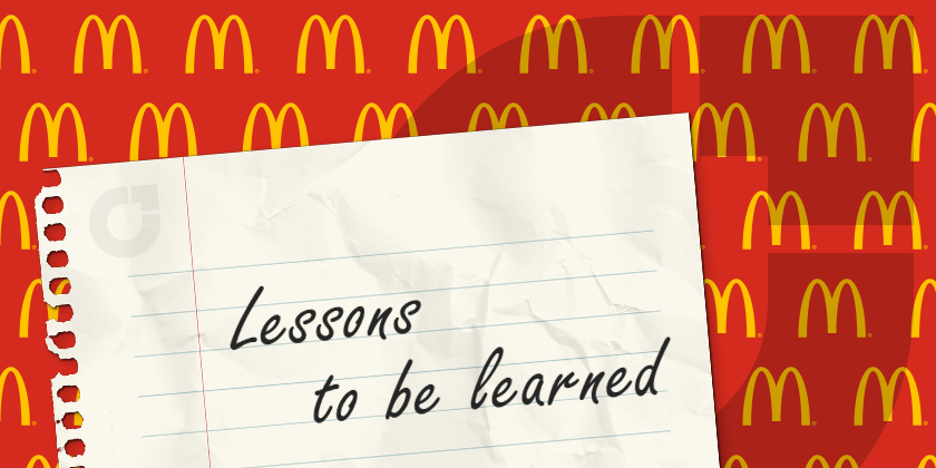 Lessons to be learned from McDonalds